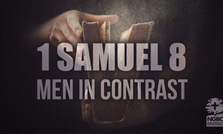 Men In Contrast