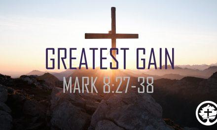 Greatest Gain