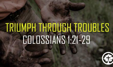 Triumph Through Troubles