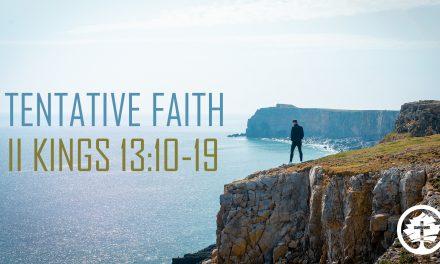 TENTATIVE FAITH